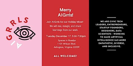 AI Grrls Holiday Mixer: AI and Us