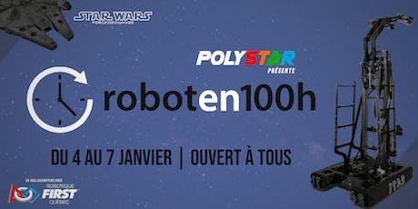 Robot en 100h s'invite à Polytechnique tickets
