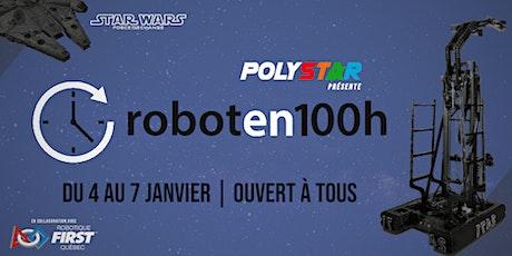 Robot en 100h s'invite à Polytechnique billets