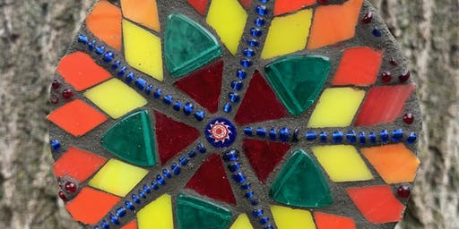 Mosaic with Mary: MINI MANDALA MOSAICS