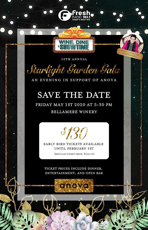 Wine, Dine & Showtime: Starlight Garden Gala image