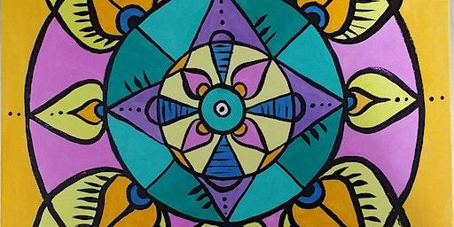 Mandala Painting and Meditation - Painting Party