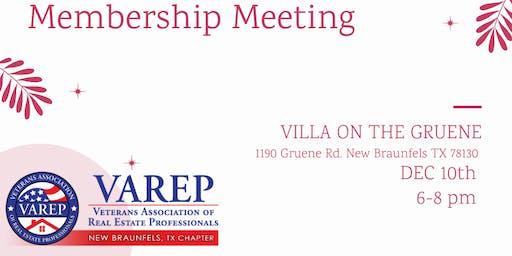 VAREP December Mixer & Membership Meeting