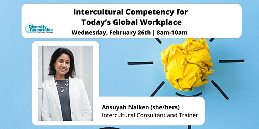 DRTCI Monthly Event: Intercultural Competency for Today's Global Workplace