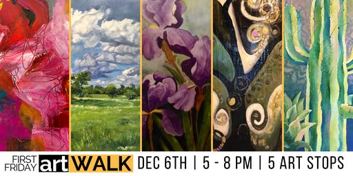 December's First Friday Art Walk