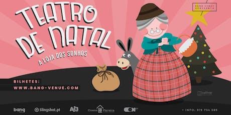Teatro Infantil | A Loja dos Sonhos | Bang Venue bilhetes
