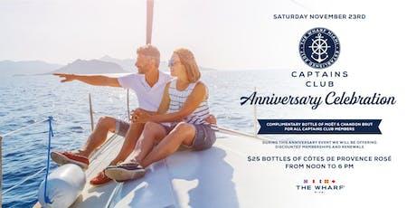 Captains Club Anniversary Celebration tickets