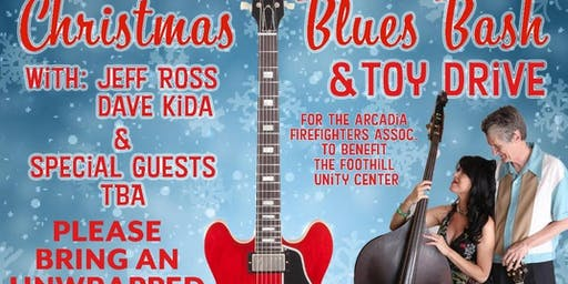 Adrianna Marie L.A. Jones Christmas Blues Bash & Toy Drive 12-14-2019 Arcadia Blues Club