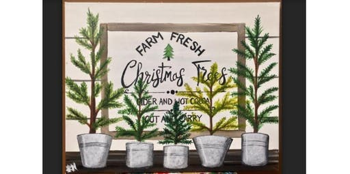 Christmas Tree Mantle (12-21-2019 starts at 6:30 PM)