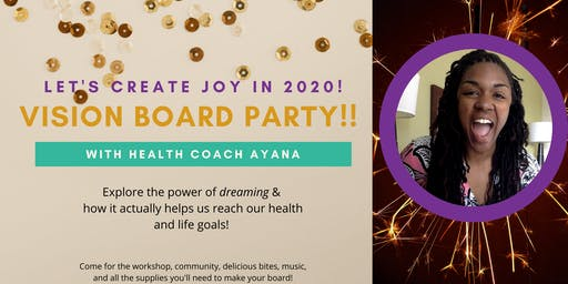 Vision Board Party! (with Coach Ayana)