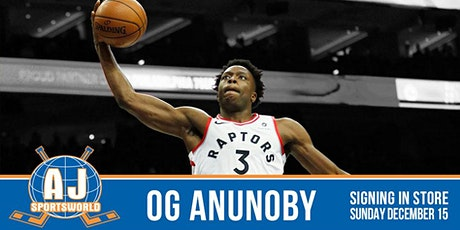 OG Anunoby - In Store Signing tickets