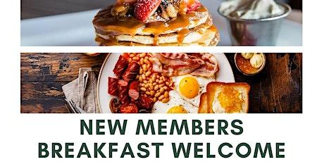 New Members Breakfast Welcome Meeting tickets