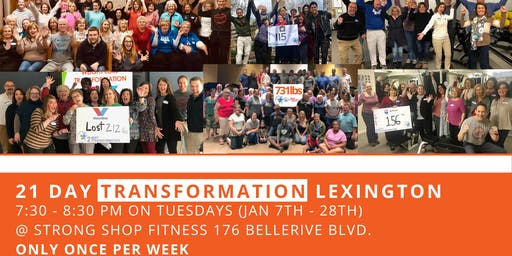 21 Day Transformation - Lexington