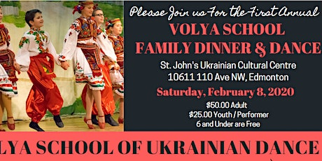 Volya Family Dinner and Dance tickets