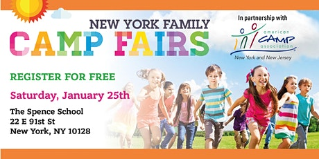 New York Family Camp Fair- Upper East Side tickets