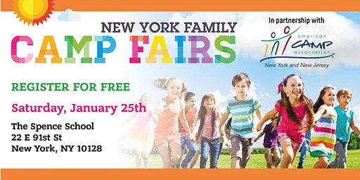 New York Family Camp Fair- Upper East Side