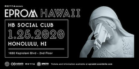 Eprom at HB Social Club tickets