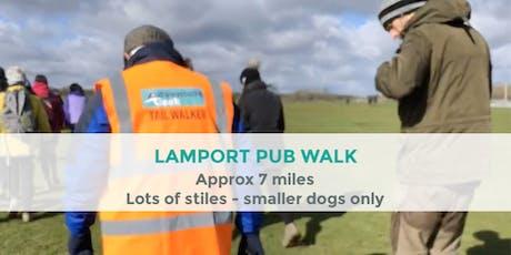 LAMPORT FUMBLE PUB WALK | 7 MILES | MODERATE | NORTHANTS tickets