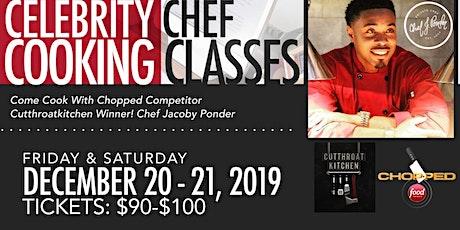Cooking W/ Celebrity Chef Ponder tickets
