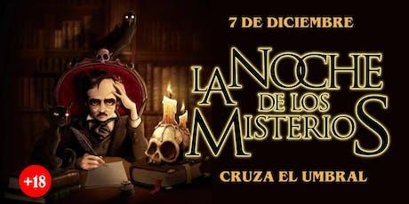 La Noche de los Misterios (DICIEMBRE 7) tickets