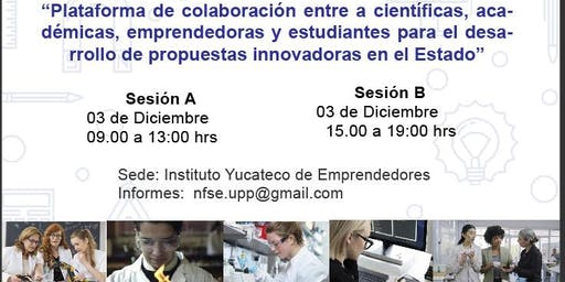 Plataforma de colaboración entre científicas/ académicas/estudiantes