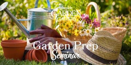 Lakeside Garden Gallery Spring Garden Preparation tickets