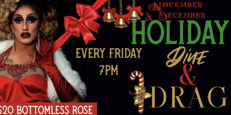 Holiday Dine Dinner & Drag Queens With Bottomless Sparkling Rose tickets