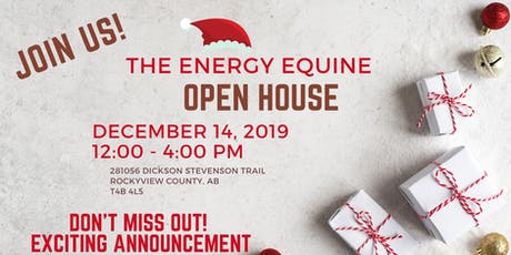 2019 Energy Equine Christmas Open House tickets