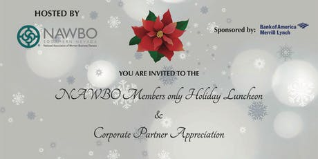 NAWBO Southern Nevada Members Only Holiday Luncheon and Corporate Partner Appreciation tickets