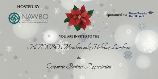 NAWBO Southern Nevada Members Only Holiday Luncheon and Corporate Partner Appreciation