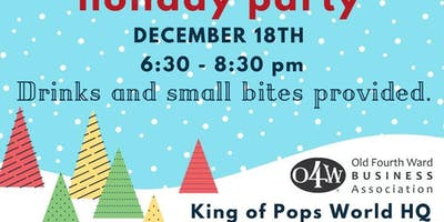 O4WBA Member Appreciation & Holiday Party