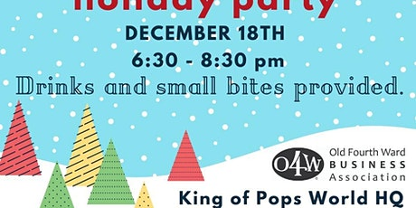O4WBA Member Appreciation & Holiday Party tickets