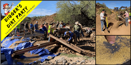 Digger's Dirt Party: Gold Mining Common Dig Outing at – Stanton, AZ tickets