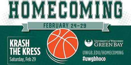 UW-Green Bay Homecoming 2020 tickets
