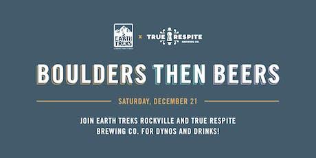 Boulders then Beers tickets