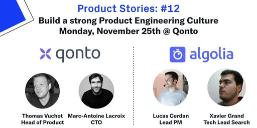 Build a strong Product Engineering culture