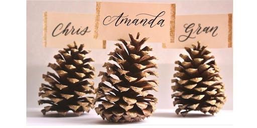 Brush Lettering Workshop - Holiday Edition