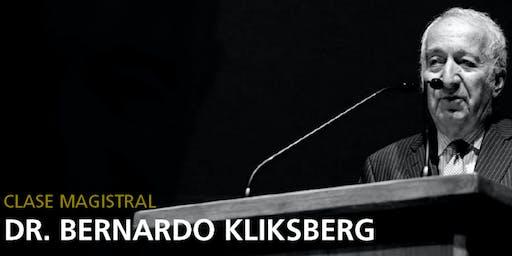 Bernardo Kliksberg: ¿Cómo mejorar el mundo?