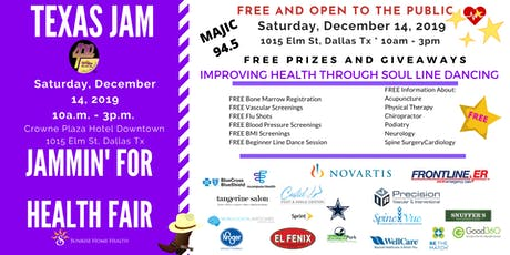 Texas Jam Health Fair - Jammin For Health tickets
