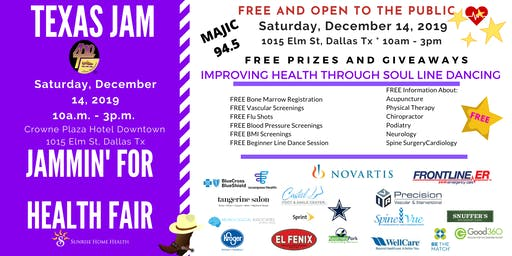 Texas Jam Health Fair - Jammin For Health