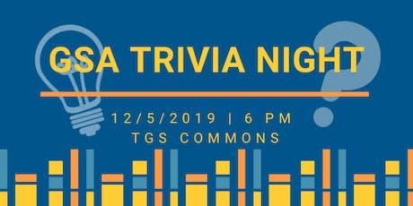 GSA Trivia Night tickets