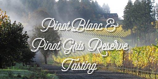 Reserve White Wine Seated Tasting