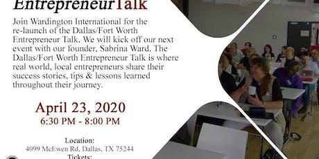Dallas/Fort Worth - Entrepreneur Talk tickets