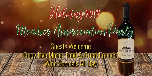 Holiday Member Appreciation Party