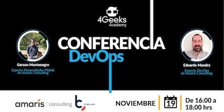 Conferencia Gratuita sobre DevOps: Fundamentos para la práctica - Santiago entradas