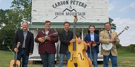 Carson Peters and Iron Mountain, Saturday, August 15, 2020 tickets