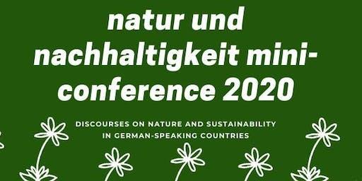 Natur und Nachhaltigkeit Mini-Conference 2020