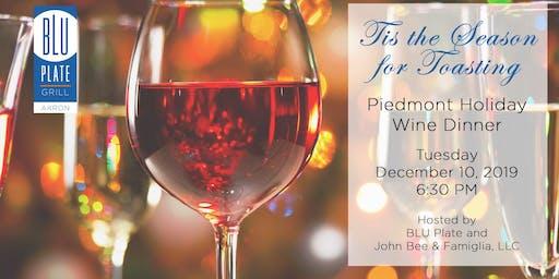 Piedmont Holiday Wine Dinner