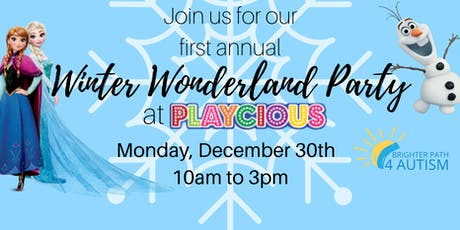 Winter Wonderland Party at Playcious Oakville tickets