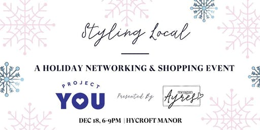 Styling Local Holiday event